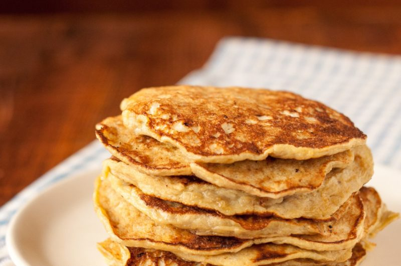 Delicious dairy-free and gluten-free banana pancakes